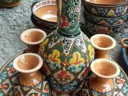 Прямая поставка из Риштана. Керамические тарелки все виды.