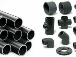 Трубы и фитинги из ПВХ для бассейнов