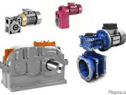 Редукторы, мотор-редукторы, двигатели, краны, подшипники.