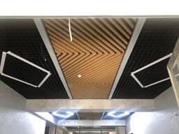 Реечный кубический рейка подвесной потолок