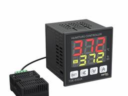 Регулятор температуры и влажности TDK-03-02A 100-240VAC -40-125C° 0-100%RH размер 72x72
