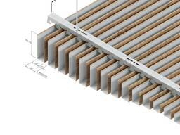 Рейка реечные баффели reyka подвесной потолок