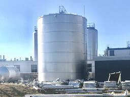 Резервуар нержавеющий 500м3 пищевой