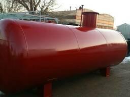 Резервуары и емкости СУГ (пропан-бутан) для заправок АГЗС и