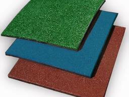 Резиновое плиточное покрытие для площадок и другие