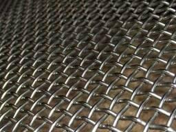 Рифленая нержавеющая сетка 20x20x1. 2 мм 12Х18Н10Т ГОСТ 3826-