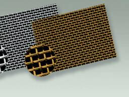 Рифленая нержавеющая сетка 8x8x1. 6 мм 12Х18Н10Т ГОСТ 3826-82
