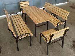 Садовые стол и скамейки