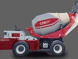 Самазагрузичный бетономиксер CTS 5,5м3
