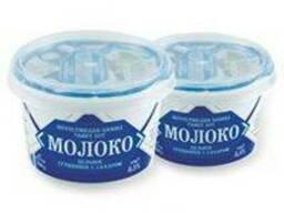 Сгущенное молоко в стаканчиках по 250 гр.