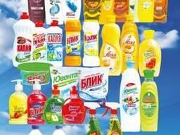 Шампуни, моющие и чистящие средства