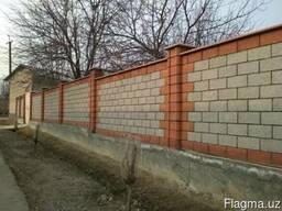 Шлакоблоки в Ташкенте. (Фасадные;Облицовочные)
