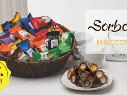 """Шоколадные конфеты 7 вкусов """"SORBON MINI CONE"""""""