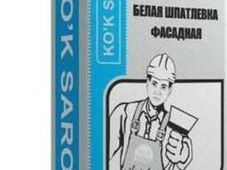 Шпатлёвка Фасадная белая Ko`k Saroy 20 кг - фото 1