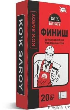 Шпатлёвка Финишная Ko`k Saroy 20 кг