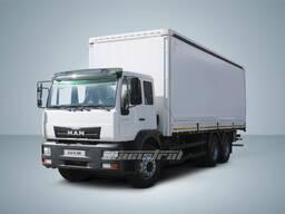 Шторный автофургон MAN CLA 31. 280 6x4 BB 16 тонн