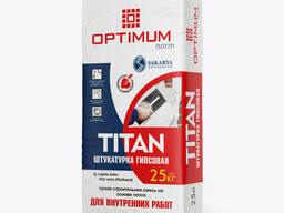 Штукатурка гипсовая OPTIMUM NORM - TITAN 25кг