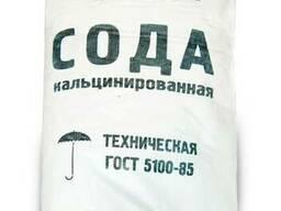 Сода кальцинированная 99,4 % в мешках 45 кг