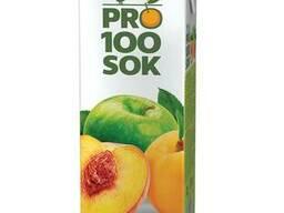 """Сокосодержащие напитки и нектары """"PRO100SOK""""™ в ассортименте"""