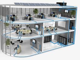 Создание сети в офисе