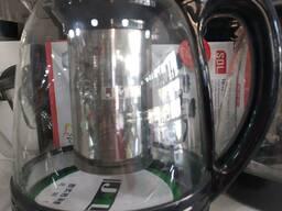 Стеклянный чайник 1, 3л 001код