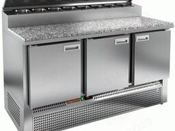 Стол охлаждаемый для пиццы Hicold Pze2-111/Gn (1/6H)