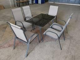 Стол со стульями для сада и дачи