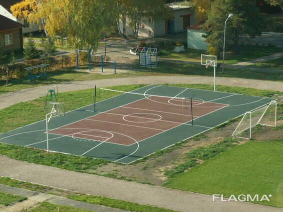 Строительство Баскетбольных площадок!
