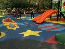 Строительство и оборудование детских площадок из пластика