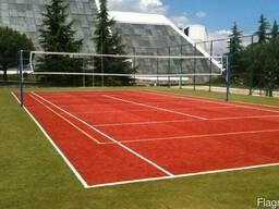 Строительство и покрытие волейбольных площадок