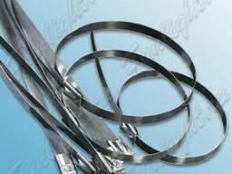 Стяжка кабельная металлическая 100мм
