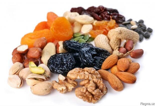 Сухофрукты и орехи из Узбекистана