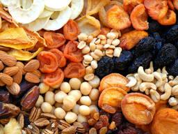 Сушенные и свежие Фрукты и овощи