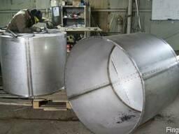 Сварка аргоном, реакторы сироповарки катлы варочные пищевые