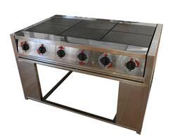 Электрическая плита (шести конфорочная)