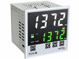 Терморегулятор электронный TС5-M-W2T/R-2 220VAC -30-1372C° размер 72x72