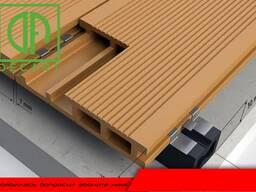Террасные доски ДПК пол из дпк термообработанная древесина decart