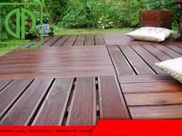Террасные доски (полы и стеновые) качество термообработанная древесина
