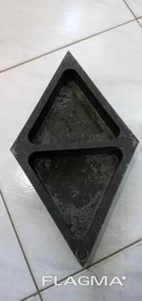Тротуарная плитка песчано полимерная (ромбиком) толщ 4 см