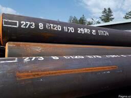 Труба стальная бесшовная Ø 273х8мм ГОСТ 8732-78