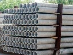 Трубы асбестовые хризотилцементные диаметр от 100 до 300