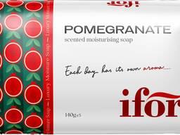 Твёрдое туалетное мыло IFOR Pomegranate 140 g