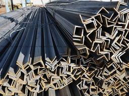 Уголки стальные г/к равнополочные ГОСТ 8509-93, марки стали ст.3пс