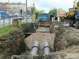 Услуги гидроизоляции железобетонных каналов при прокладк