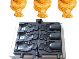 Вафельница тайяки рыбка