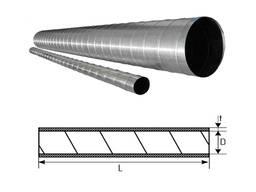 Воздуховод круглого сечения спирально-навивной