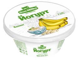Йогурт Банан 2.5%