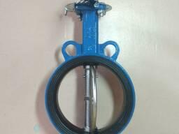 Затвор чугунный дисковый EPDM DN 150 PN16 ручной