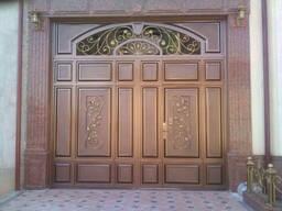 Железные ( металлические ) ворота. Temir darvoza