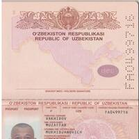 Vakhidov Muzaffar Muhitdjanovich